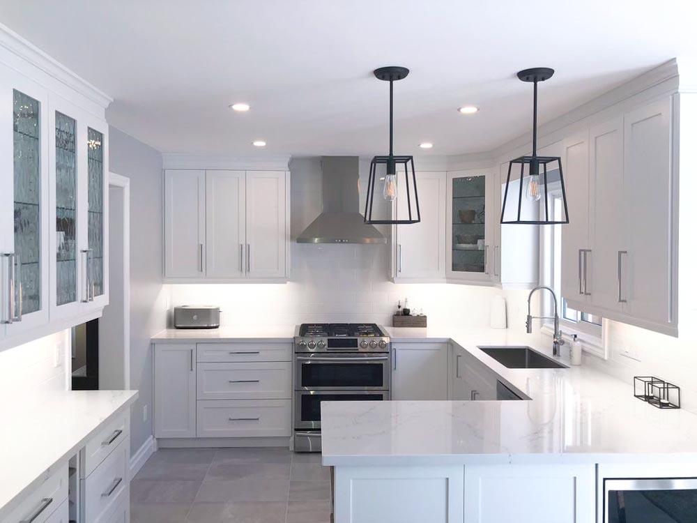 a beautiful new kitchen